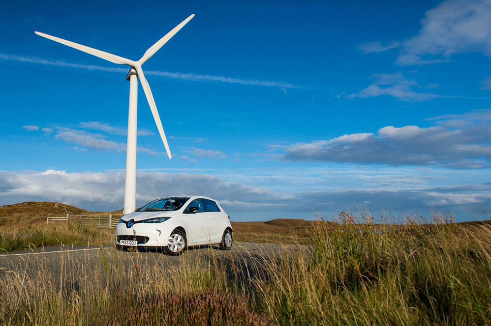 Renault Zoe Campagne Zero co2