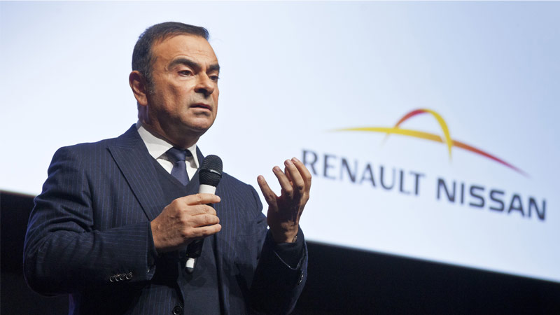 Carlos Ghosn at the 7th Renault-Nissan Alliance Convention in 2014