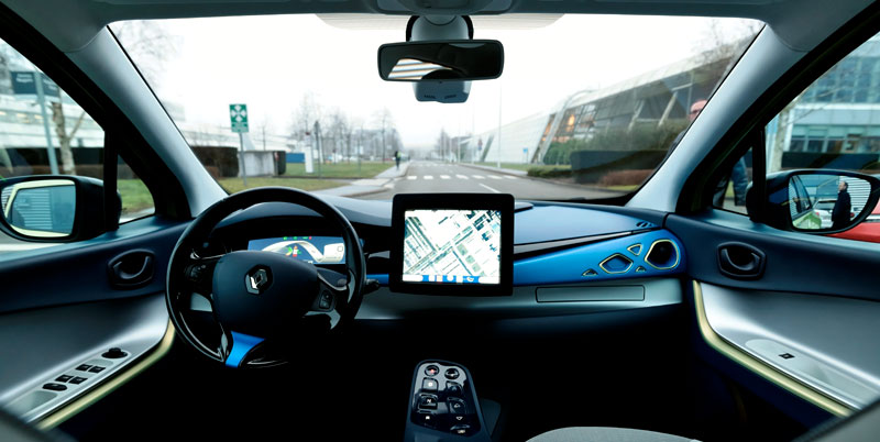 La voiture autonome  de Renault NEXT  TWO