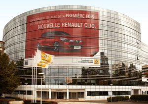 Renault head office in Boulogne-Billancourt on Quai Le Gallo