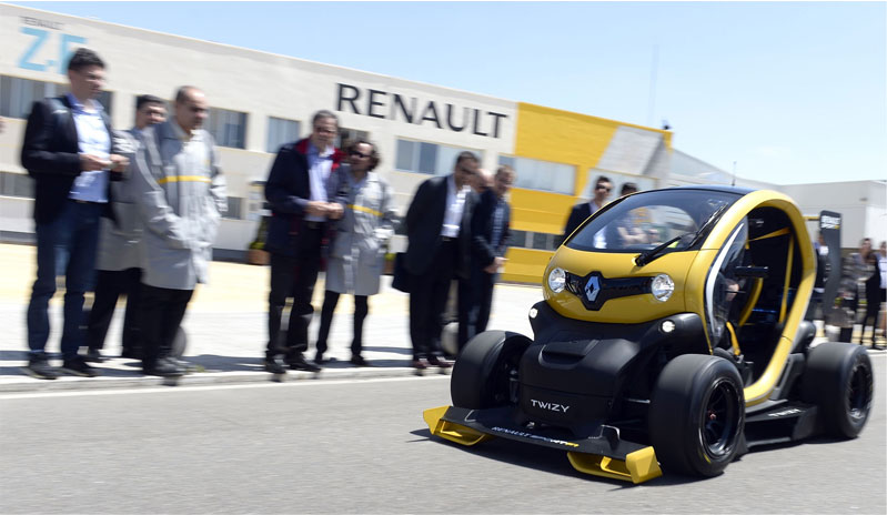 2013 - Concept Twizy Renault Sport F1