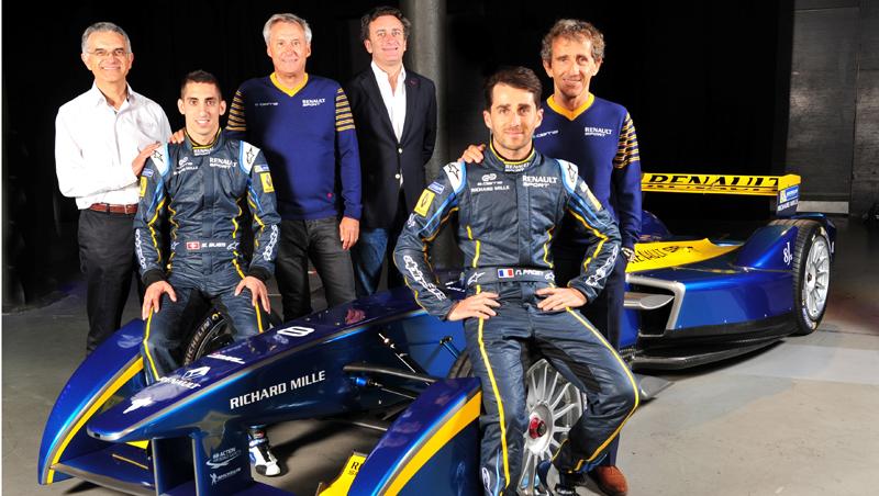 E-dams, l'écurie de Renault en Formula E