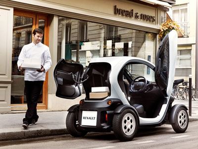 Twizy Cargo The Electric Vehicle Now Comes With A Boot Groupe Renault