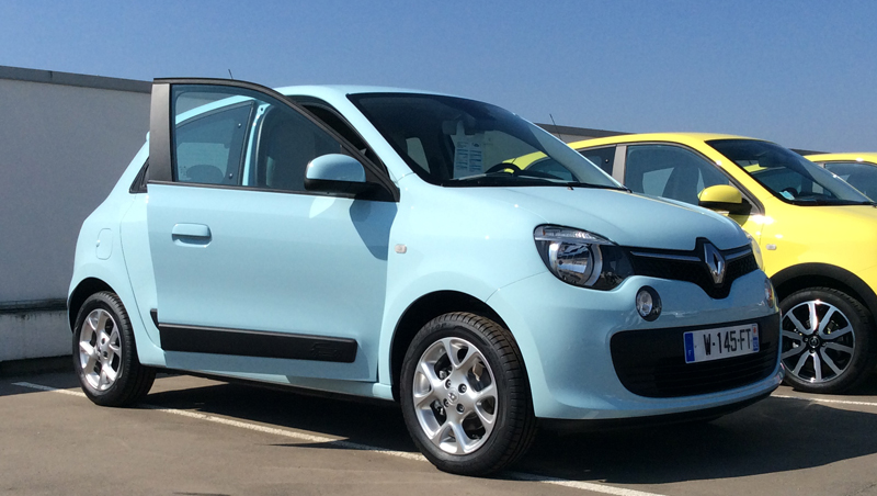 New Twingo test drives - Groupe Renault