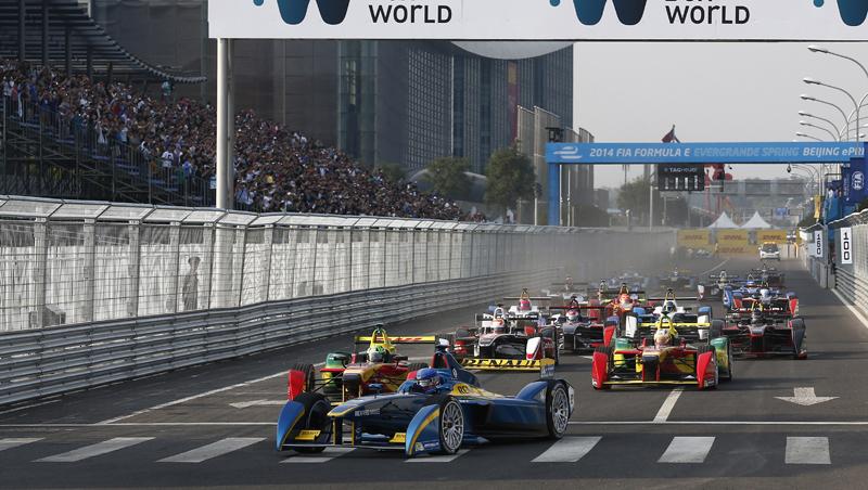 Grand prix de Formula E à Pékin