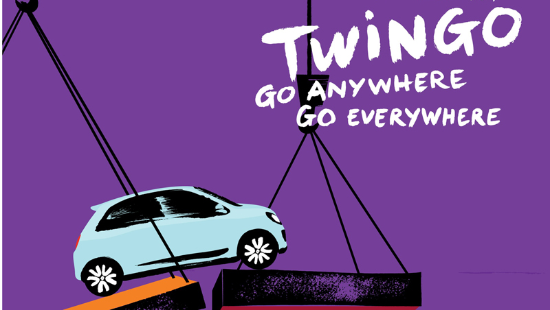 New Advertising Campaign For New Twingo Groupe Renault