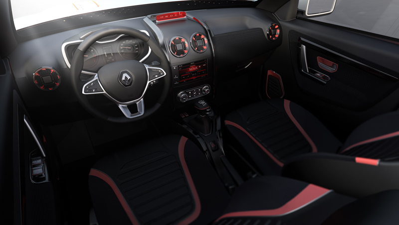 Duster Oroch interieur