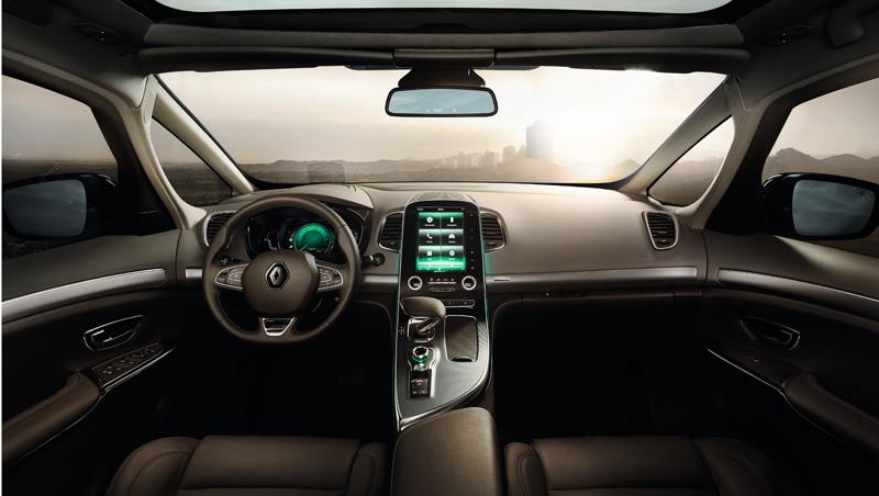 Renault pr sente nouvel espace au mondial de paris 2014 for Renault espace v interieur