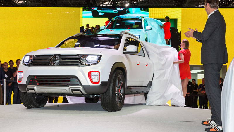 Show car Renault Duster Oroch
