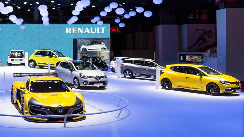 Renault Sport R.S. 01 et Clio R.S. 200 EDC au Mondial de l'Auto 2014