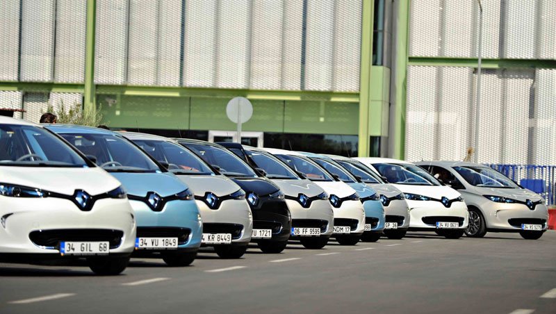Renault ZOE test drive in Turkey
