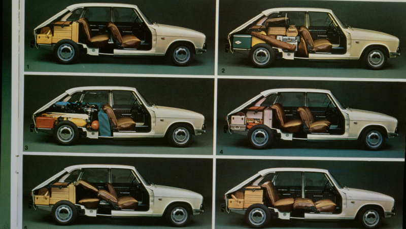 Renault And The Familiy Cars 50 Years Of History Since The