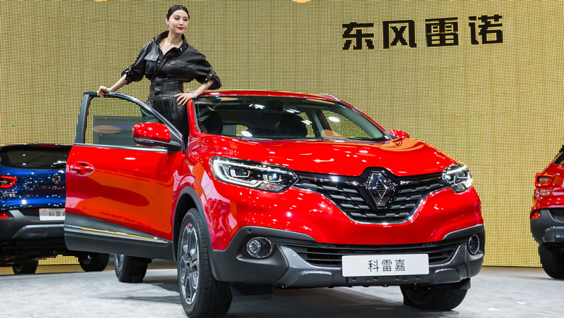 renault kadjar out to conquer the chinese market groupe renault. Black Bedroom Furniture Sets. Home Design Ideas