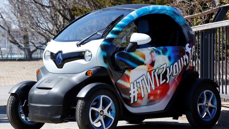 Renault Twizy Arrives In Canada