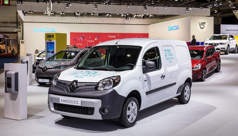 2017 Pick-up véhicule éléctric Renault Kangoo Z.E.