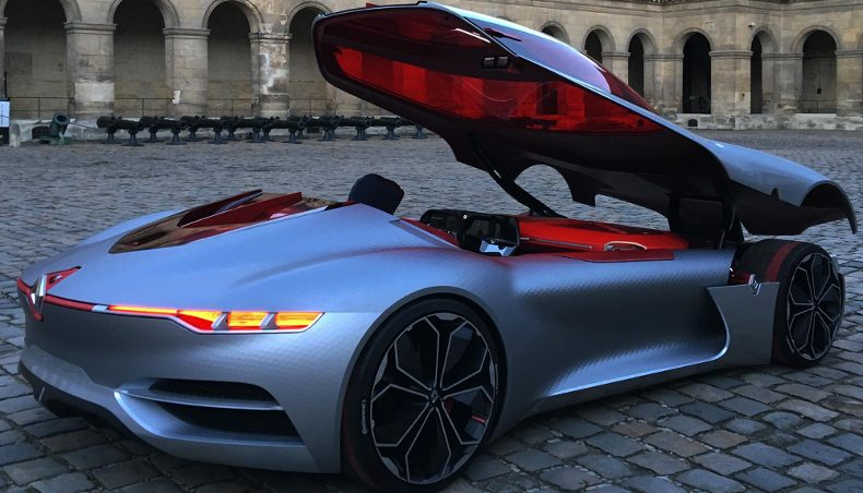 Trailblazing TreZor, Most Beautiful Concept Car of the Year