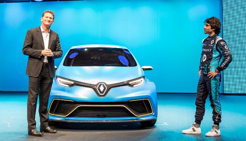 2017-concept car voiture éléctrique Renault Zoé-Salon de Genève