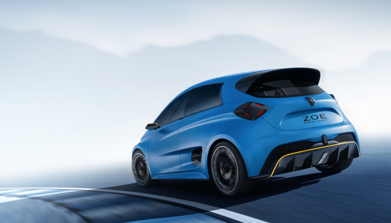 2017 - Groupe Renault electric concept car ZOE e-sport
