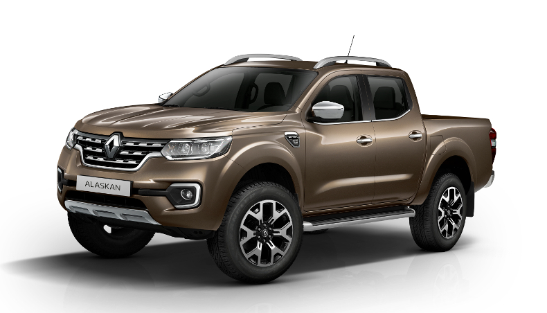 2017-Pick up utility Renault Alaskan-profile