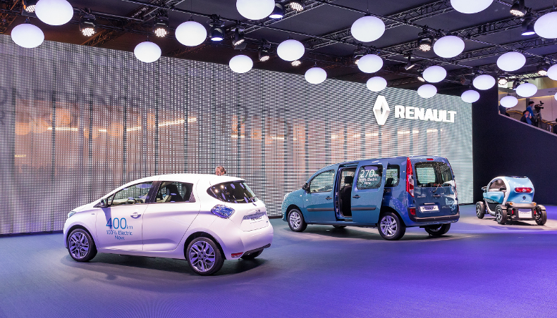 2017-electric vehicles Renault-Geneva Motor Show