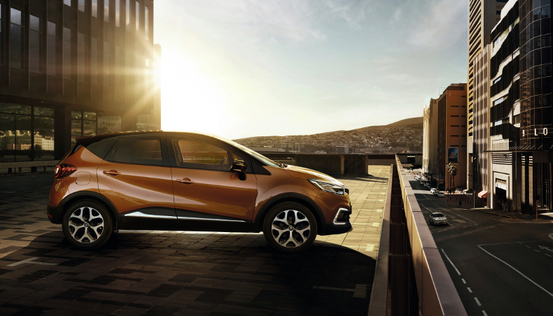 2017-crossover Renault Captur-profile