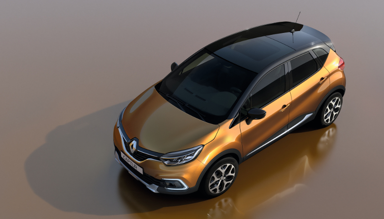 2017 Crossover New Renault Captur