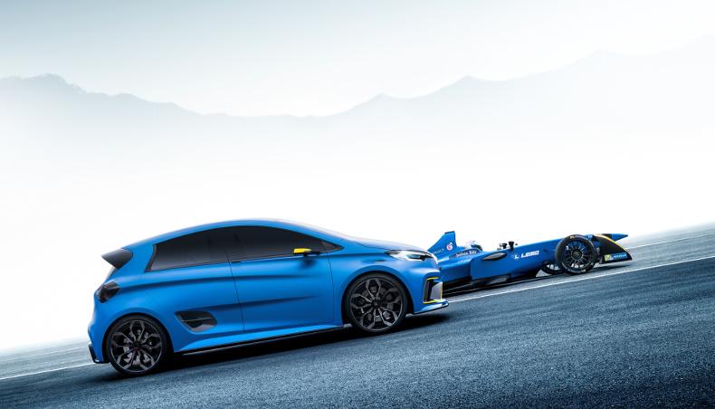 2017 - Groupe Renault electric concept car ZOE e-sport