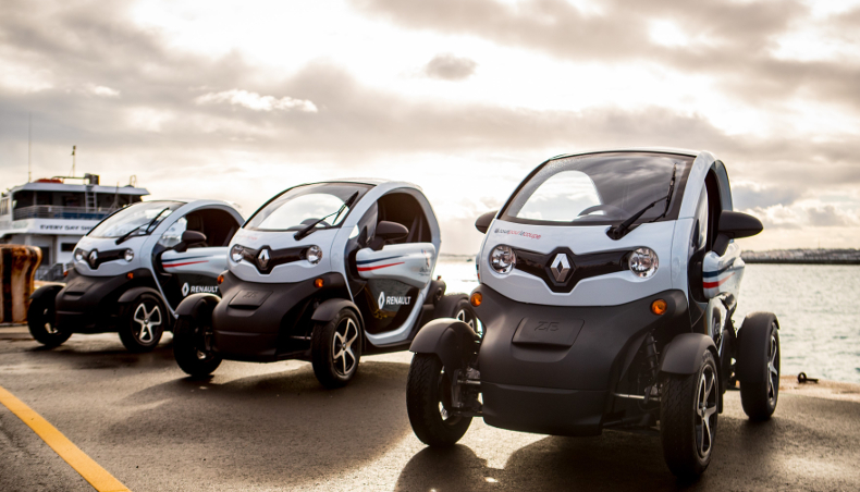 2017 - Groupe Renault electric vehicle Twizy - America's cup