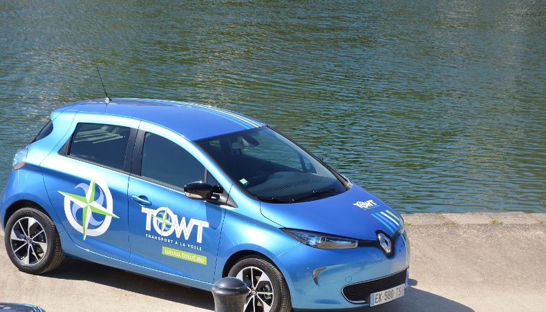 #Greenstories – Renault support for TOWT on zero-emission land-sea logistics
