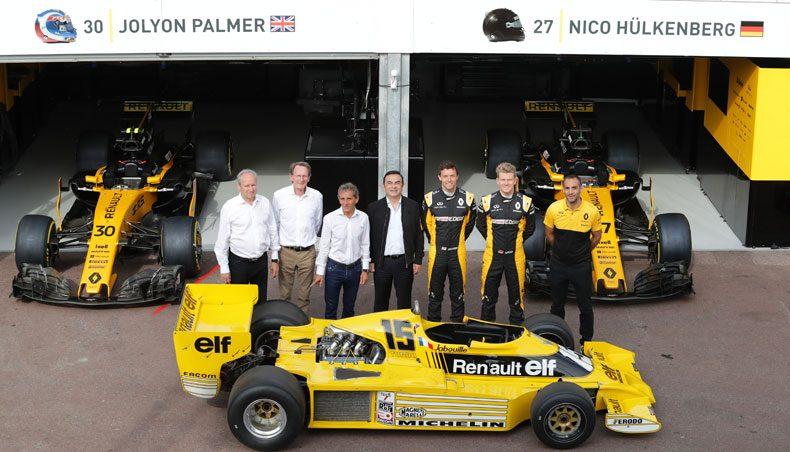 40 ans de Renault en Formule 1