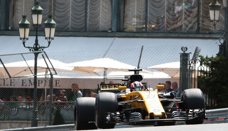Monaco GP RS 27 specific settings - Groupe Renault