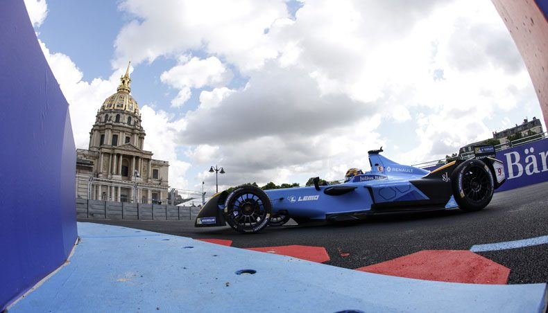 Paris ePrix: Renault-e.dams electrifies the French capital!
