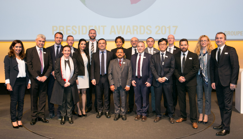 2017 - Groupe Renault President Awards