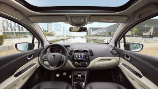 2017 Crossover New Renault Captur interior