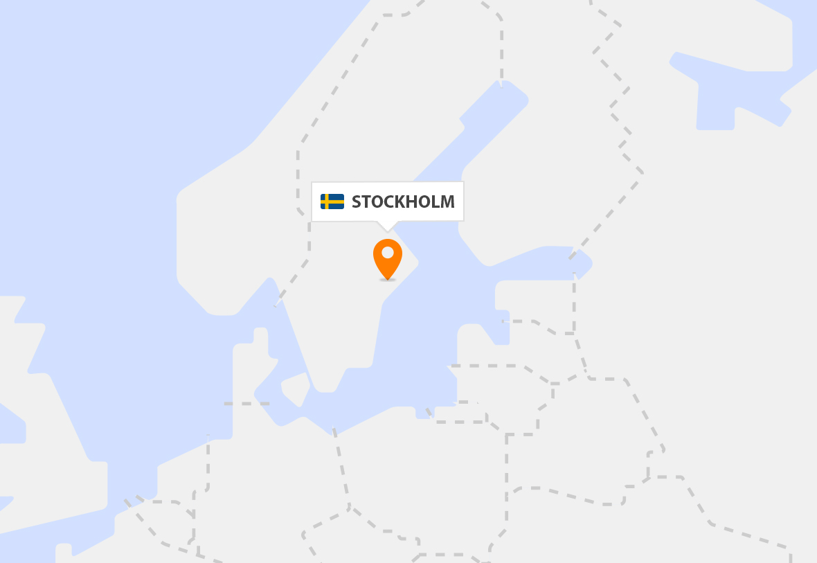 Our presence in Sweden