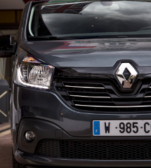 Groupe Renault trafic spaceclass exterior cannes 2017
