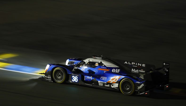 The Alpine crews ready for the 24 Hours of Le Mans