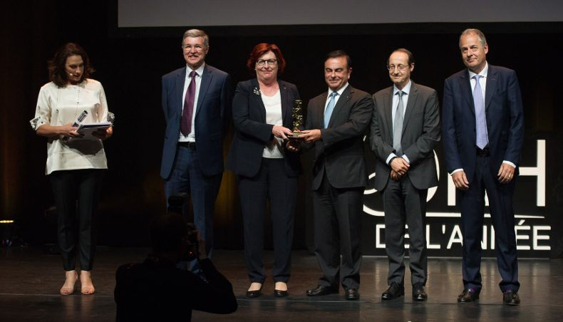 2017 - Prix DRH - CHRO of the year trophy - Marie-francoise Damesin - Groupe Renault