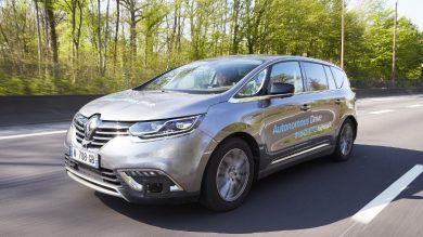 Renault presents eyes-off/hands-off technology for the autonomous vehicle of the future