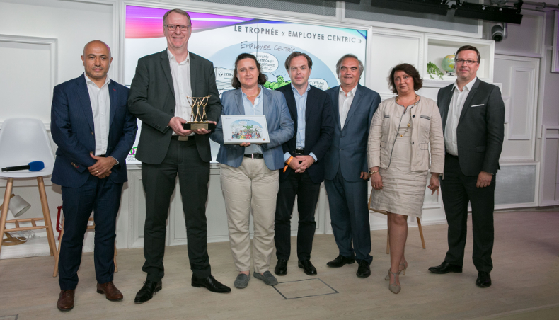2017 - Trophée Ressources humaines Digital Groupe Renault projet