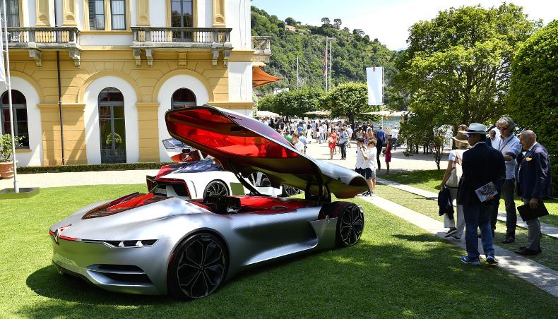 TreZor - Prix du concept-car à la villa d'Este - awarded prize at the prestigious Concorso d'Eleganza