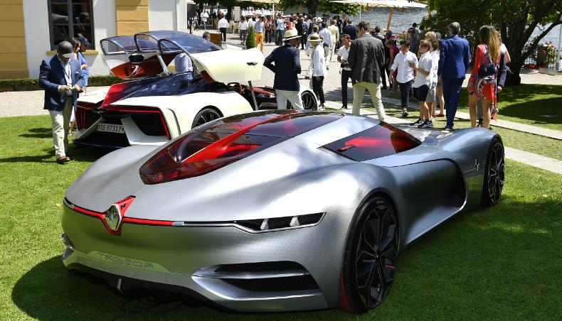2017-Groupe Renault concept-car coupé sport GT TréZor-la Villa d'Este