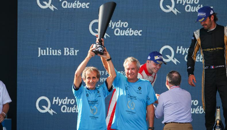 2017 - Renault Sport Formula E - edams - Champion - Prost Alain et DRIOT Jean Paul