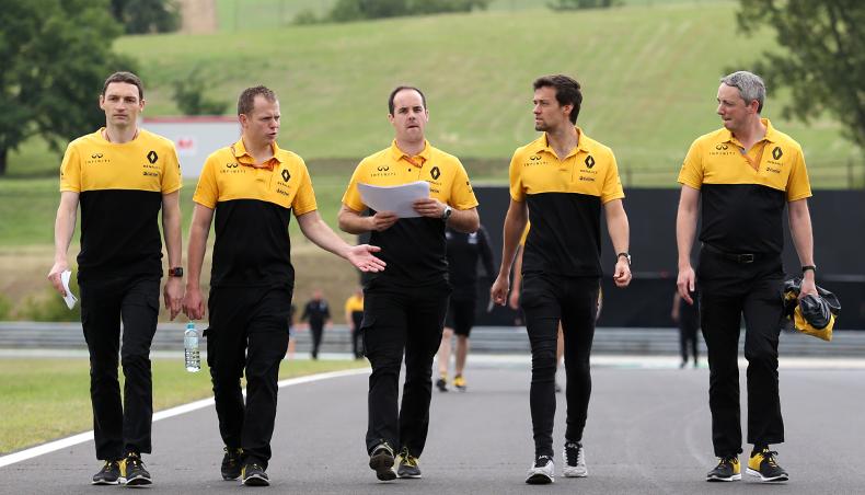 2017 - Renault Sport Formula One Team - GP Hongrie