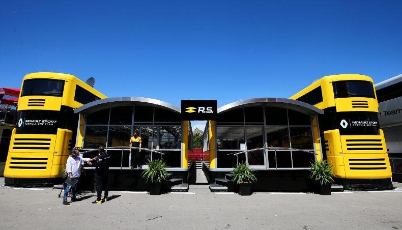 2017 - Renault Sport Formula One Team - GP Autriche - ingenierie