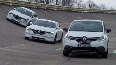 How does Renault work to develop the car of the future? A mule story!