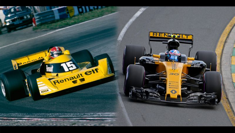 British Grand Prix: Renault celebrates 40 years in Formula 1