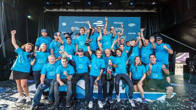 Three out of three: Three titles for Renault in three seasons of Formula E championship