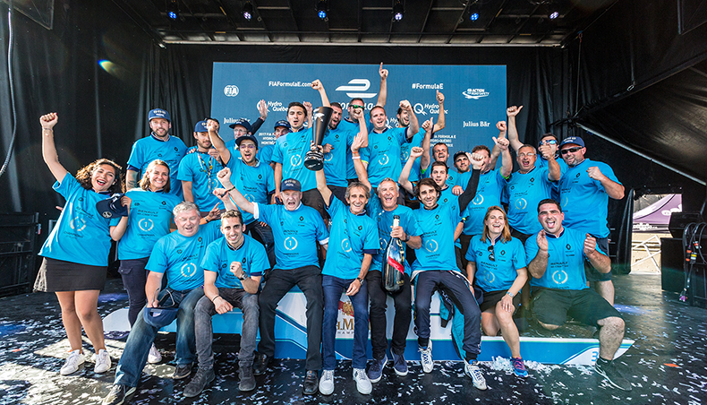 2017 - Formula E - 3 titres - Champion