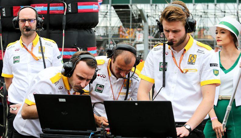 2017 - Groupe Renault - Renault Sport Formula One - telemetrie ingenieur